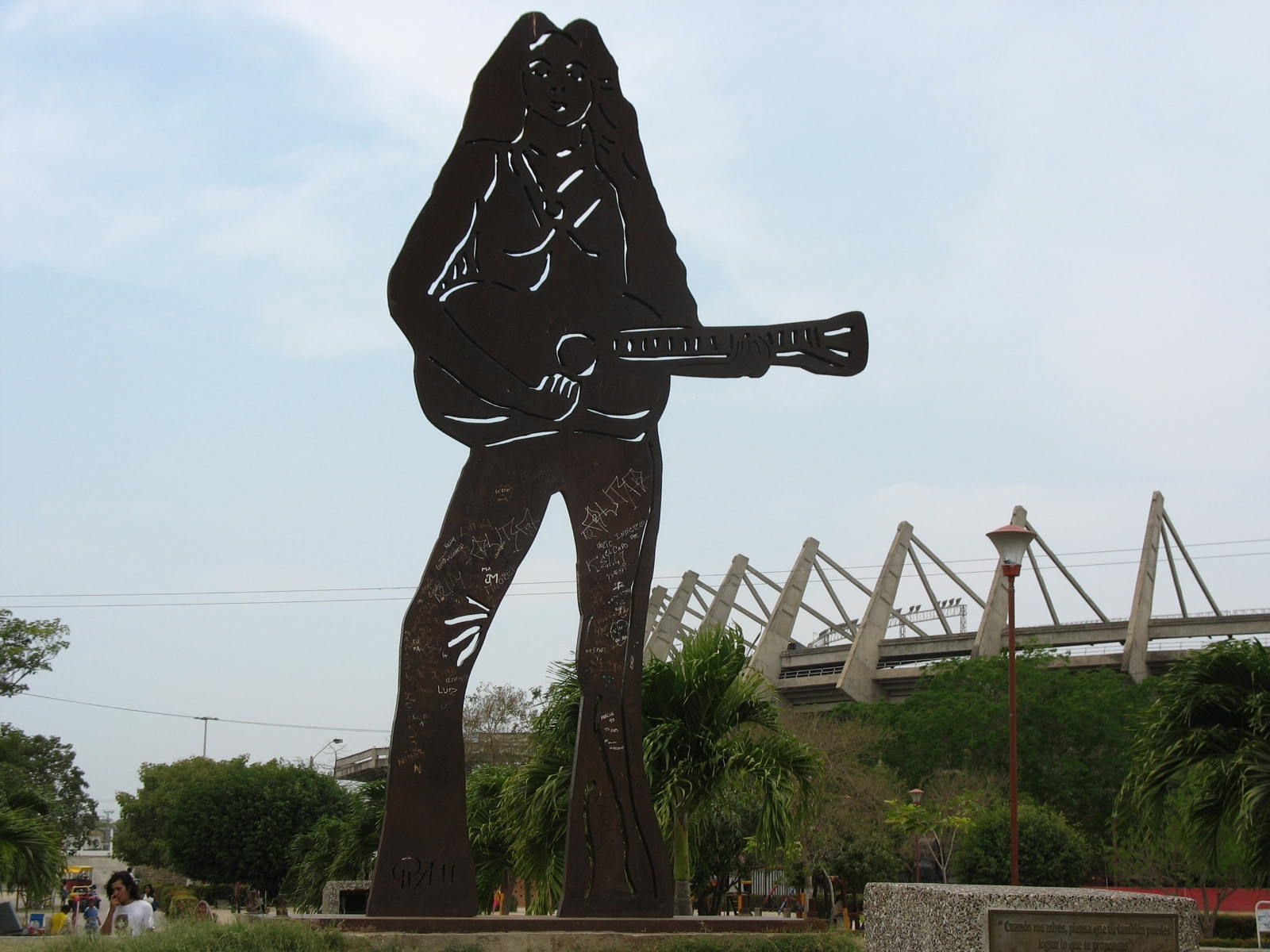 Shakira, statue (Barranquilla)