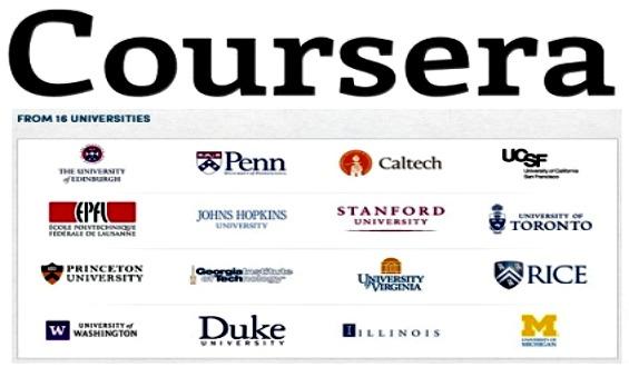 Coursera con universidades