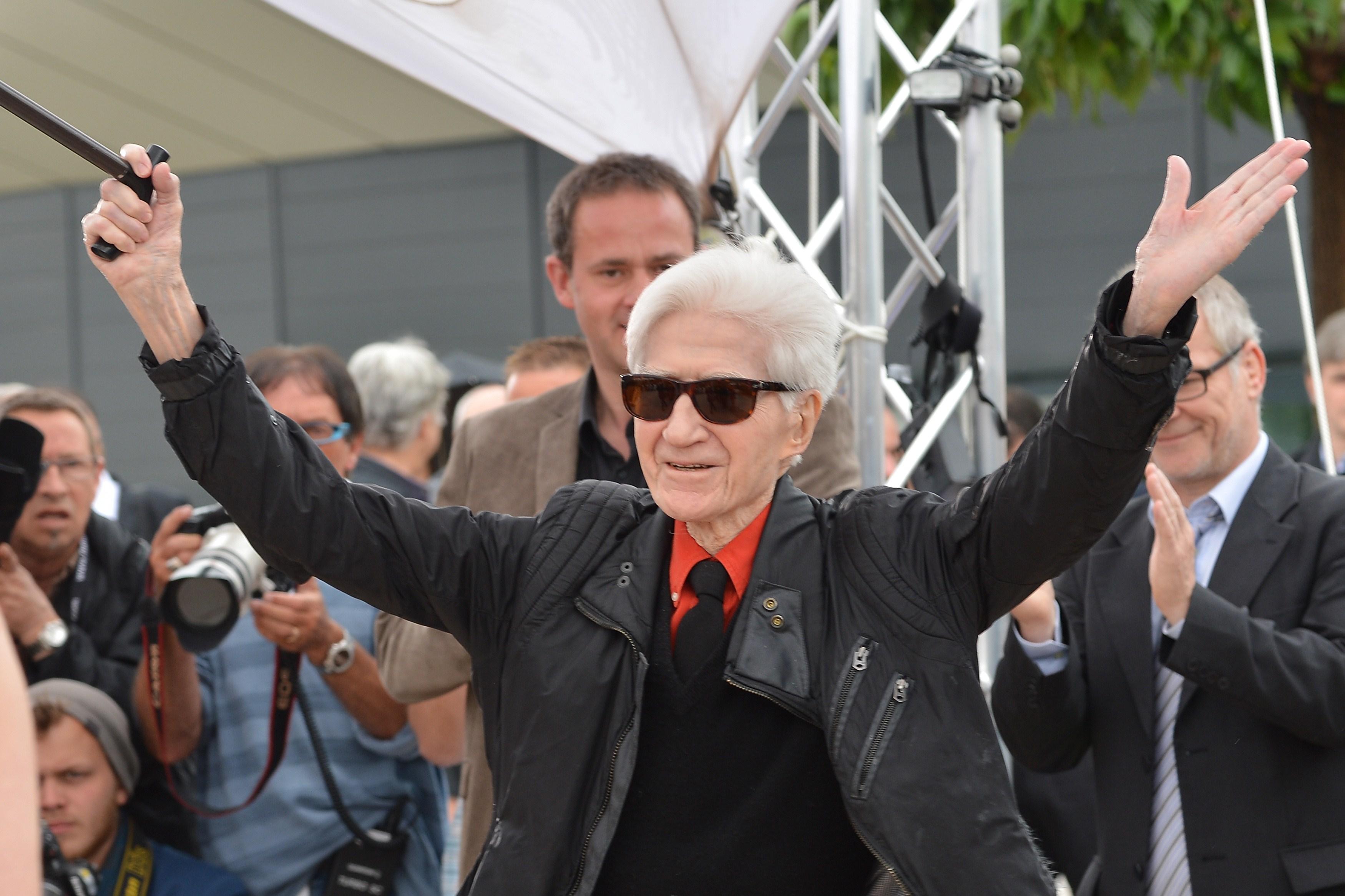 "Alain Resnais durante la presentación de ""Vous n'avez encore rien vu !"" en 2012, durante el Festival de Cannes. / AFP"