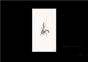 Don Quijote según Daniel Crespo Saavedra.