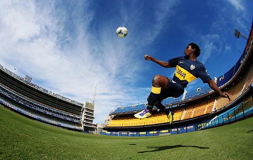 Bayan in the stadium la Bombonera-1