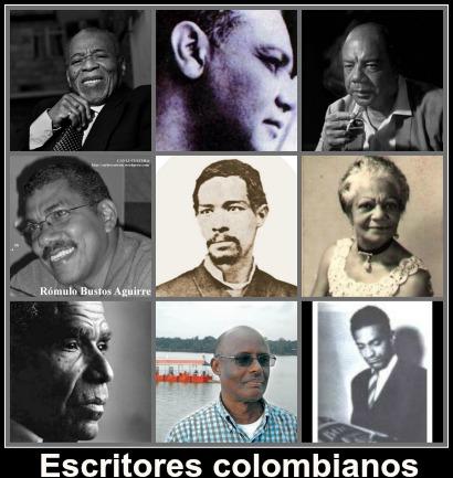Collage Escritores afrocolombianos b