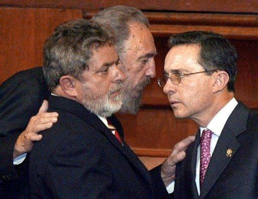 Uribe y Fidel