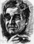 Pintura de Gabriel García Marquez