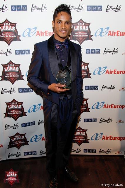 Fernando Montaño ha sido elegido 'Latin Personality of the Year' en 2013 y 2014 en los premios LUKAS que se entregan en el Reino Unido. Imagen suministrada