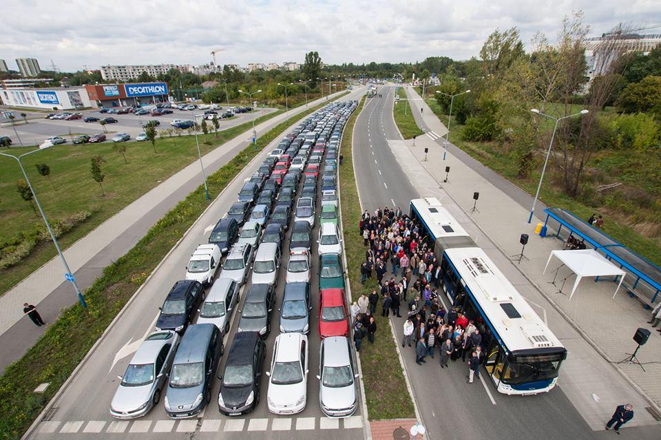 publicidad incentivar uso de transporte publico