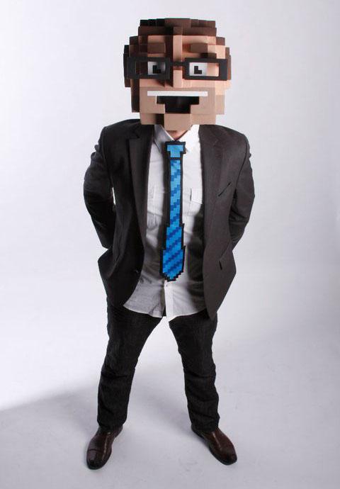 Hombre Pixel