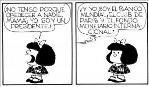 Mafalda y la obediencia