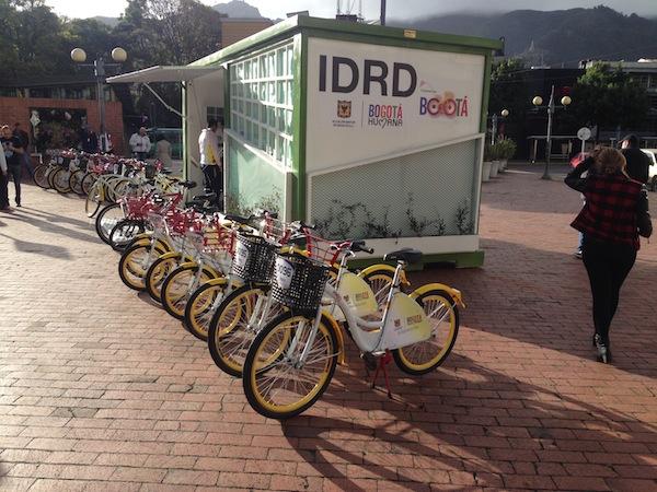 Bicicorredor parque El Virrey