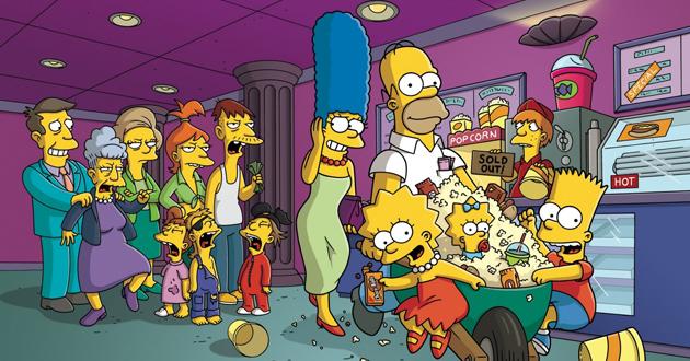 Personajes Los Simpson