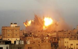Ataque Israelí a la zona urbana de Rafah, en la franja de Gaza - Foto de AFP