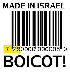 Boicot a los productos hechos en Israel