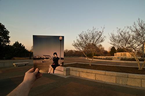 Union Station Square, Washington DC - Looking Into the Past, Jason E Powell