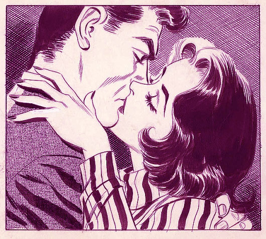 Vintage Kiss