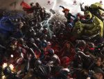 Avengers Poster Comic Con 2014