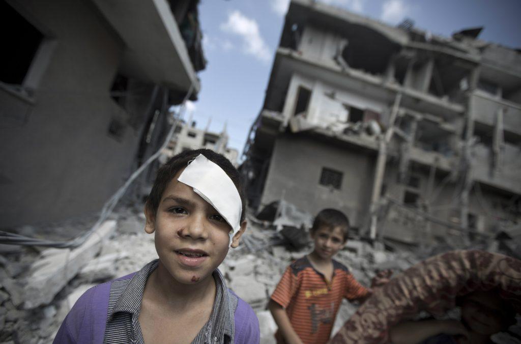 palestina niños-1 afp