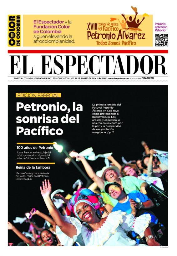 Portada EE del Petronio 14 agosto 2014b