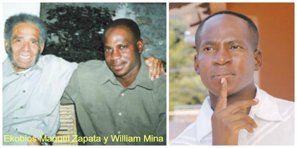 Collage Manuel Zapata y William Mina