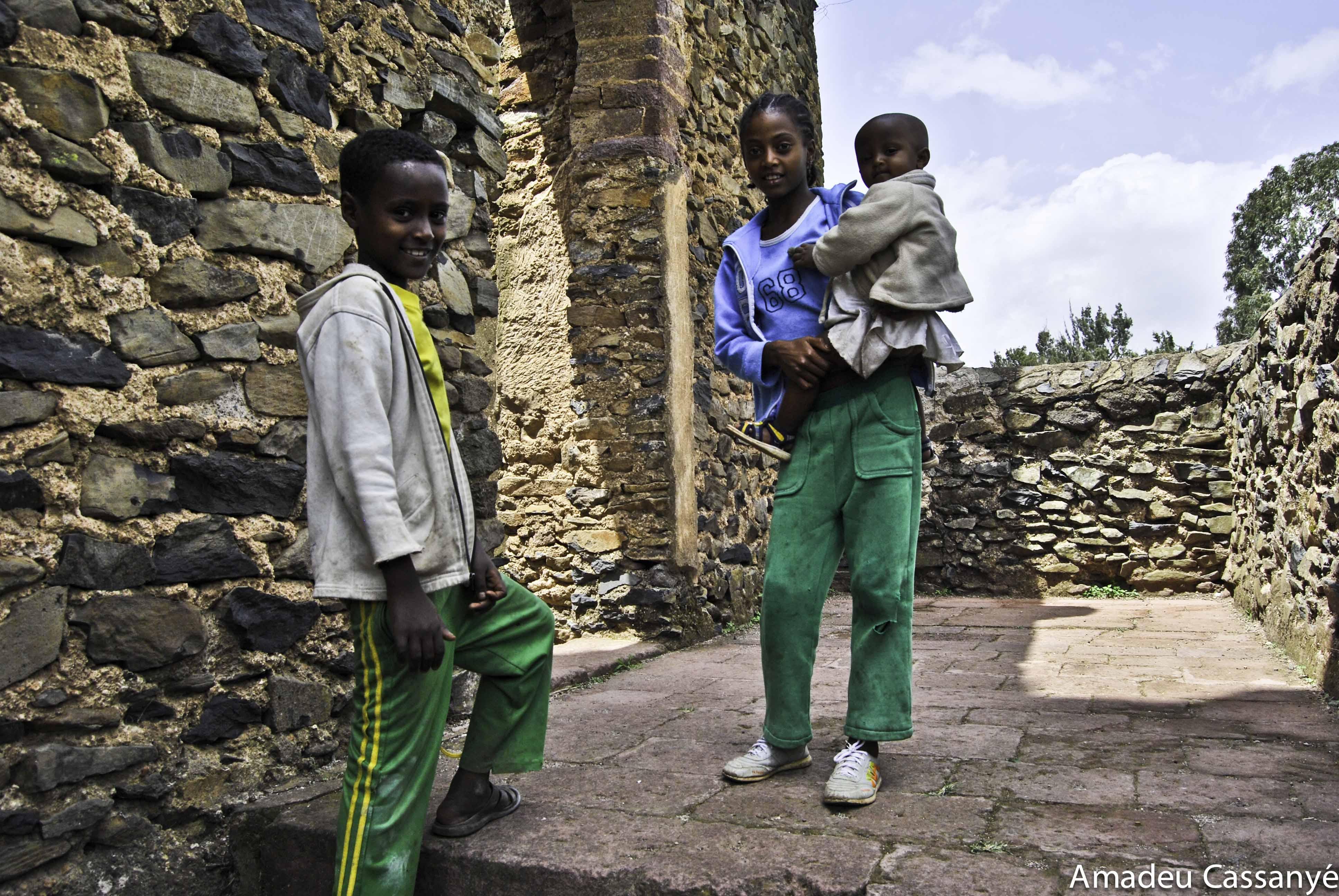 niños etíopes
