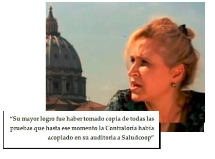 Sandra Morelli excontralora general de la República