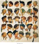 the-gossips Norman Rockwell