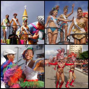 Collage Desfile Folclórico de la Independencia 1 - Fotografías Ariel Cuello
