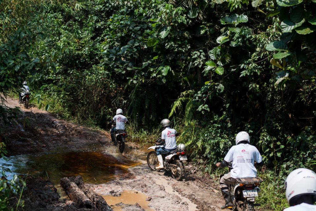 Lokolia Boende road motorbikes