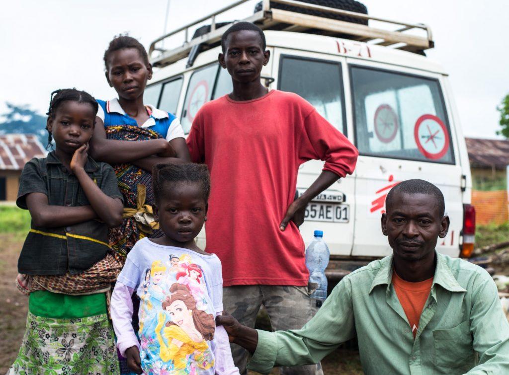Survivors Boale Ikanga Bokomo and Mputu Melisa