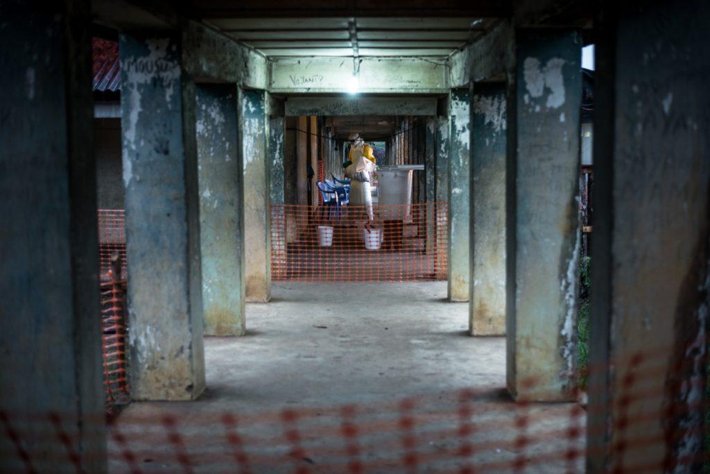 Boende Ebola Treatment Center high risk zone