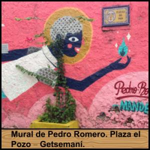 Mural de Pedro Romero. Plaza el Pozo – Getsemaní.