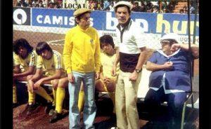 Roberto Gómez Bolaños junto a Ramón Valdés y Edgar Vivar, en una de las escenas de 'El Chanfle'.