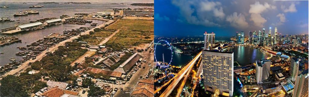 La evolución de Singapur en 50 años fue una de las más sorprendentes en el mundo.