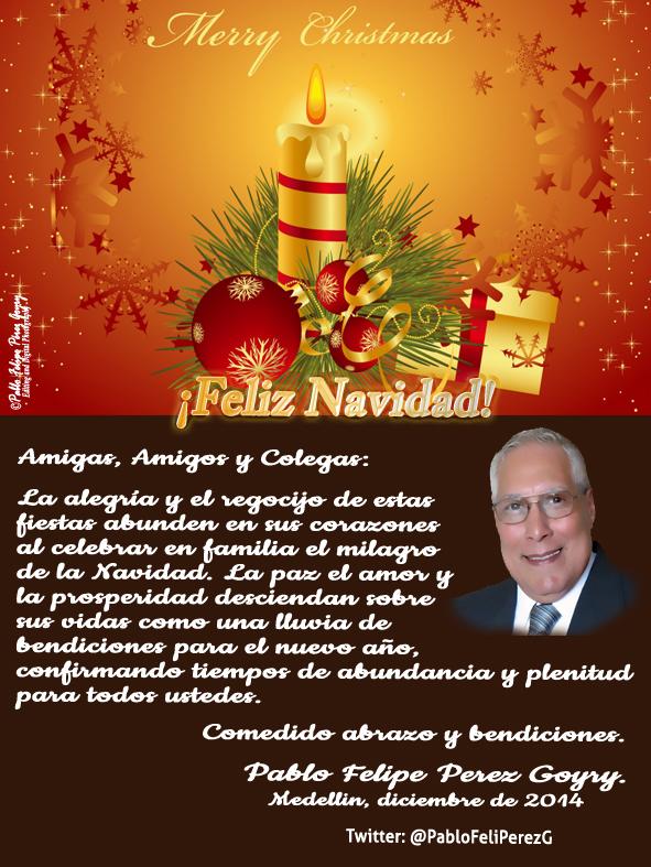 Amigas, Amigos y Colegas_Feliz Navidad 2014
