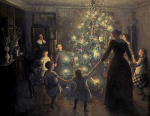 Happy  Christmas Johansen Viggo, 1891