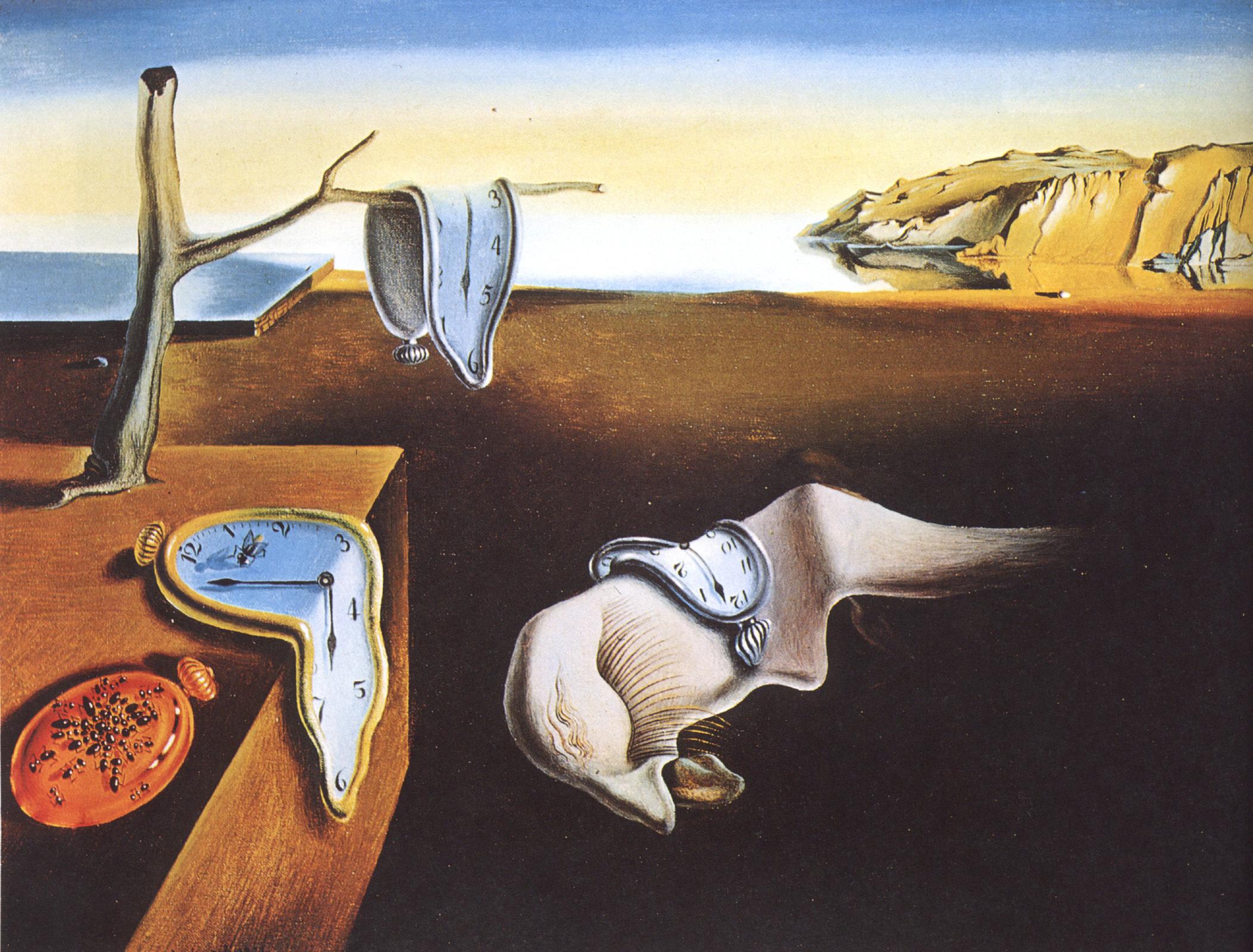 """""""La persistencia de la memoria"""" (Salvador Dalí, 1931)"""