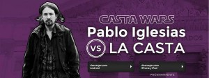 Casta Wars, el videojuego de Pablo Iglesias frente a la casta.