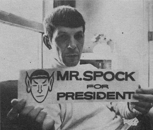 Spock for president