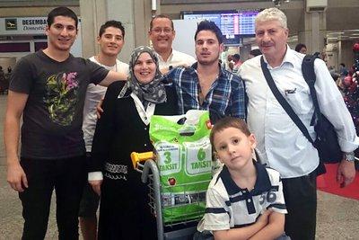 familia siria separada ACNUR