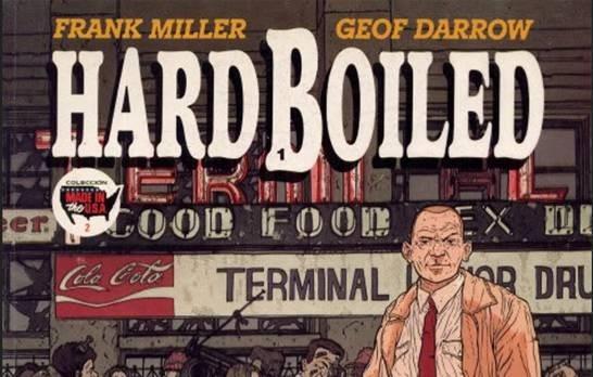Hard Boiled es la obra más violenta de Frank Miller.