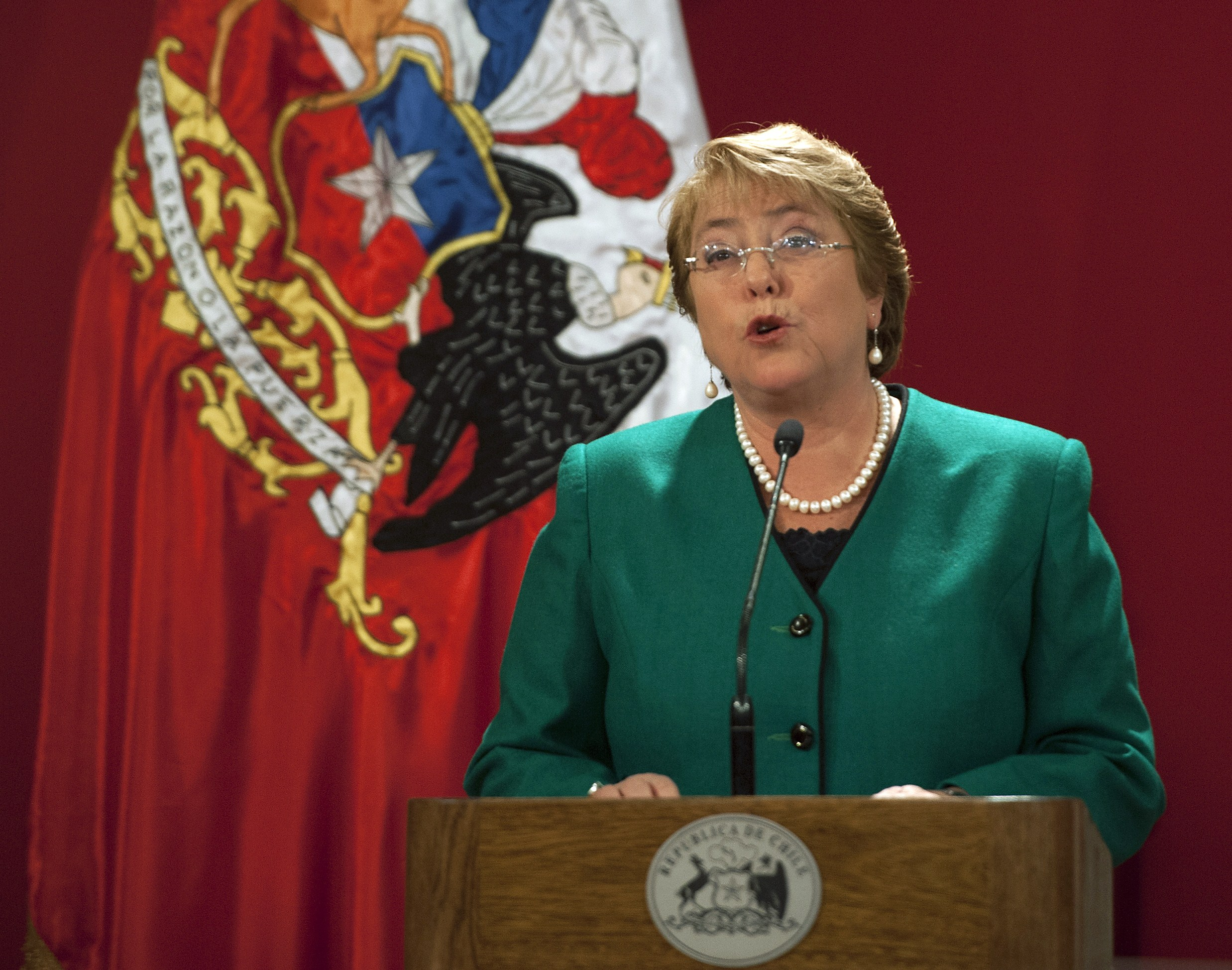 CHILE-BACHELET-CABINET