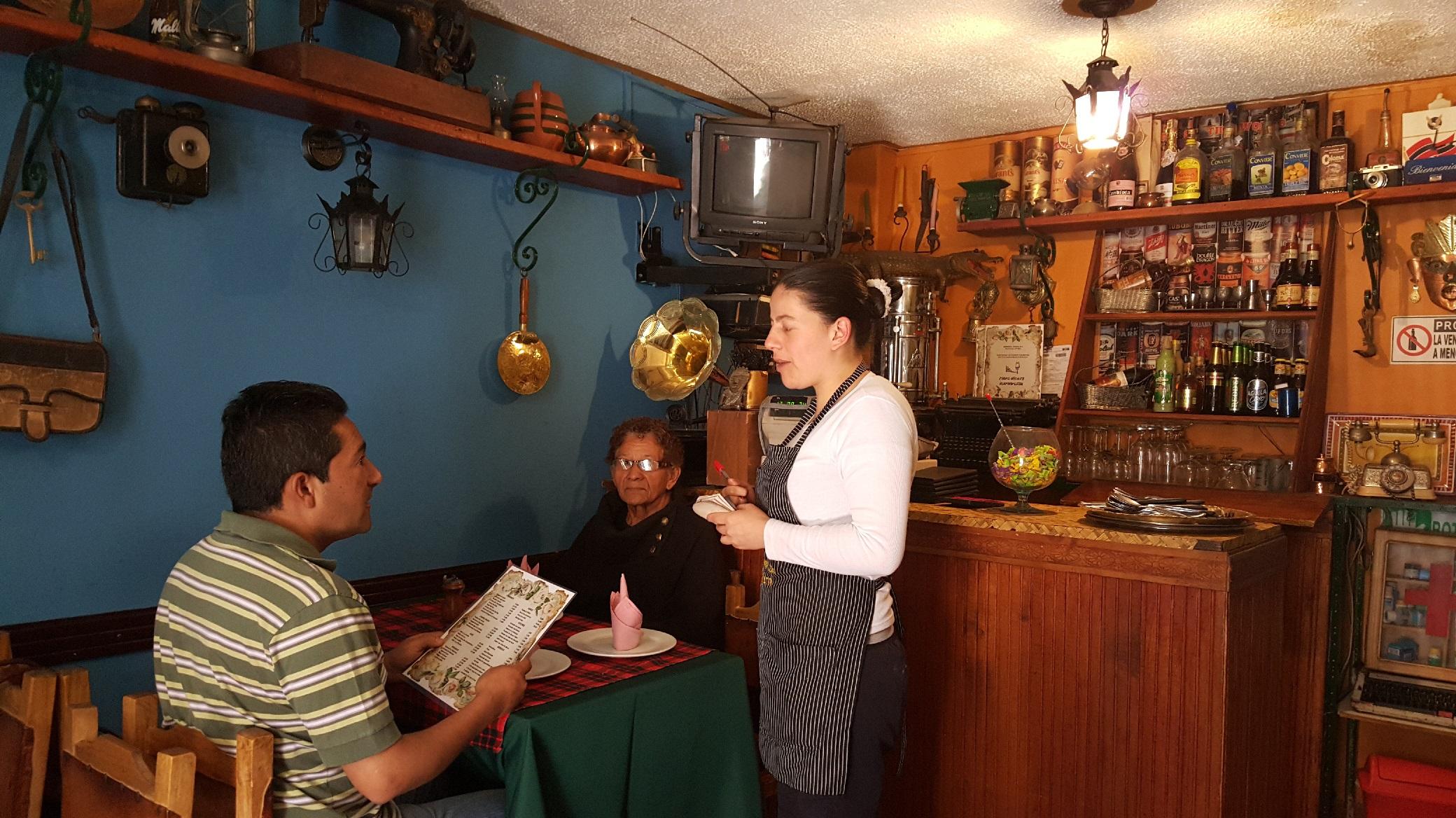 De Carolina García siempre recibirá la mejor atención y orientación del menú