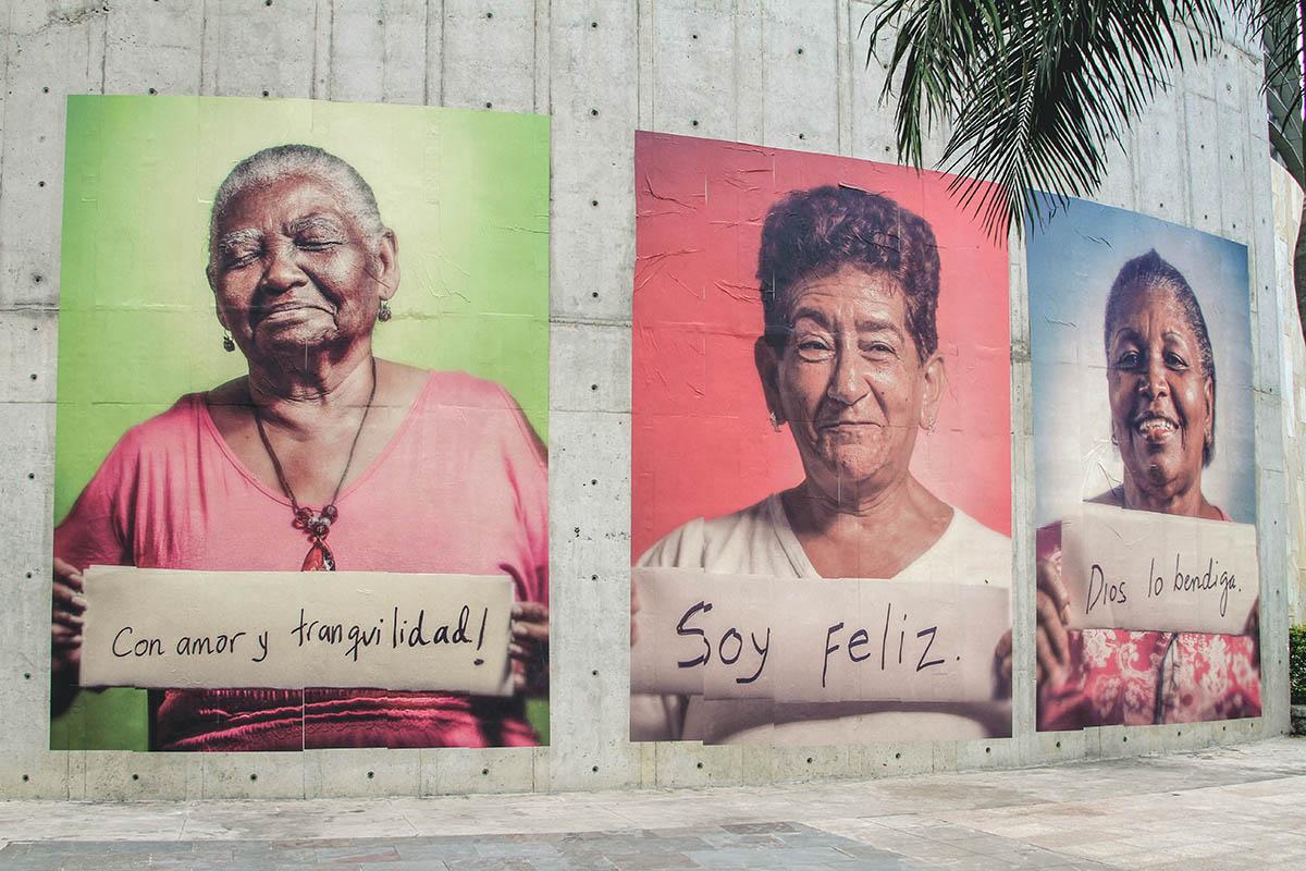 Abuelas guardianas de Aguablanca, Cali. Por Vertigo Graffiti.
