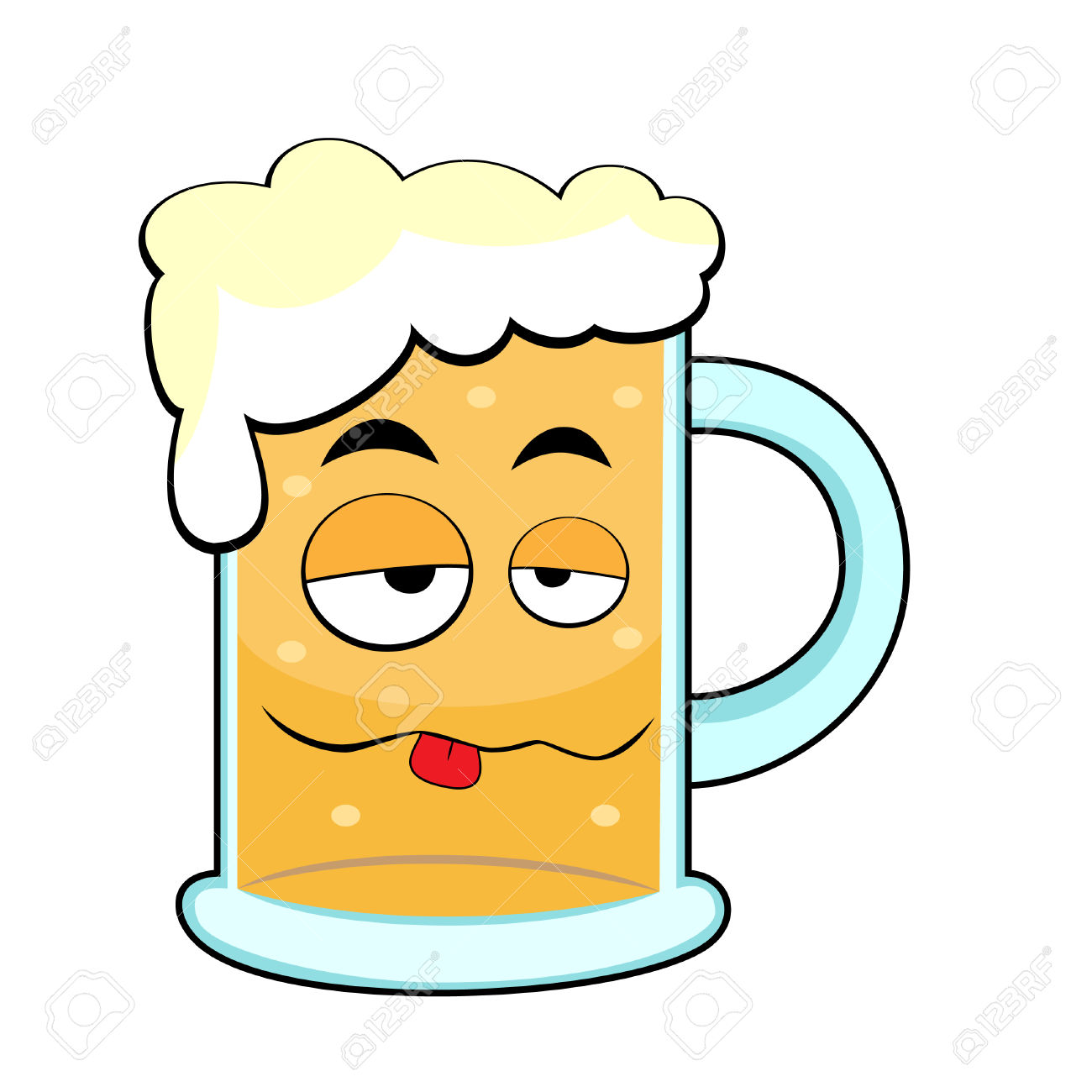 8285818-cute-drunk-beer-mug--Stock-Vector-cartoon