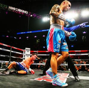 Foto- Ed Mulholand : HBO Sports