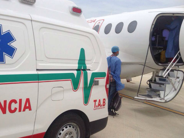 avión ambulancia1