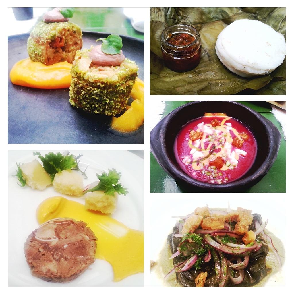 Los platos del menú del 6 aniversario de Mestizo