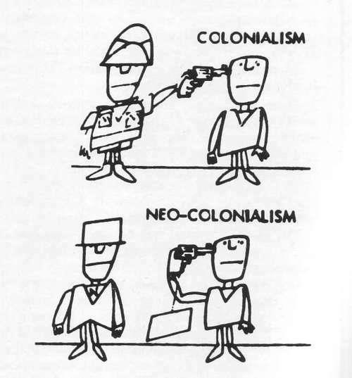 El modelo agroindustrial es un ejemplo de neocolonialismo