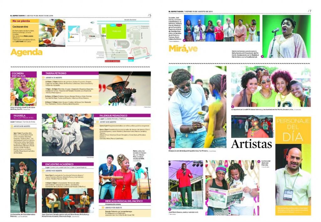 Collage Diario del Petronio multiplica su audiencia b