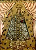 Cuadro de la Virgen de la Bordadita