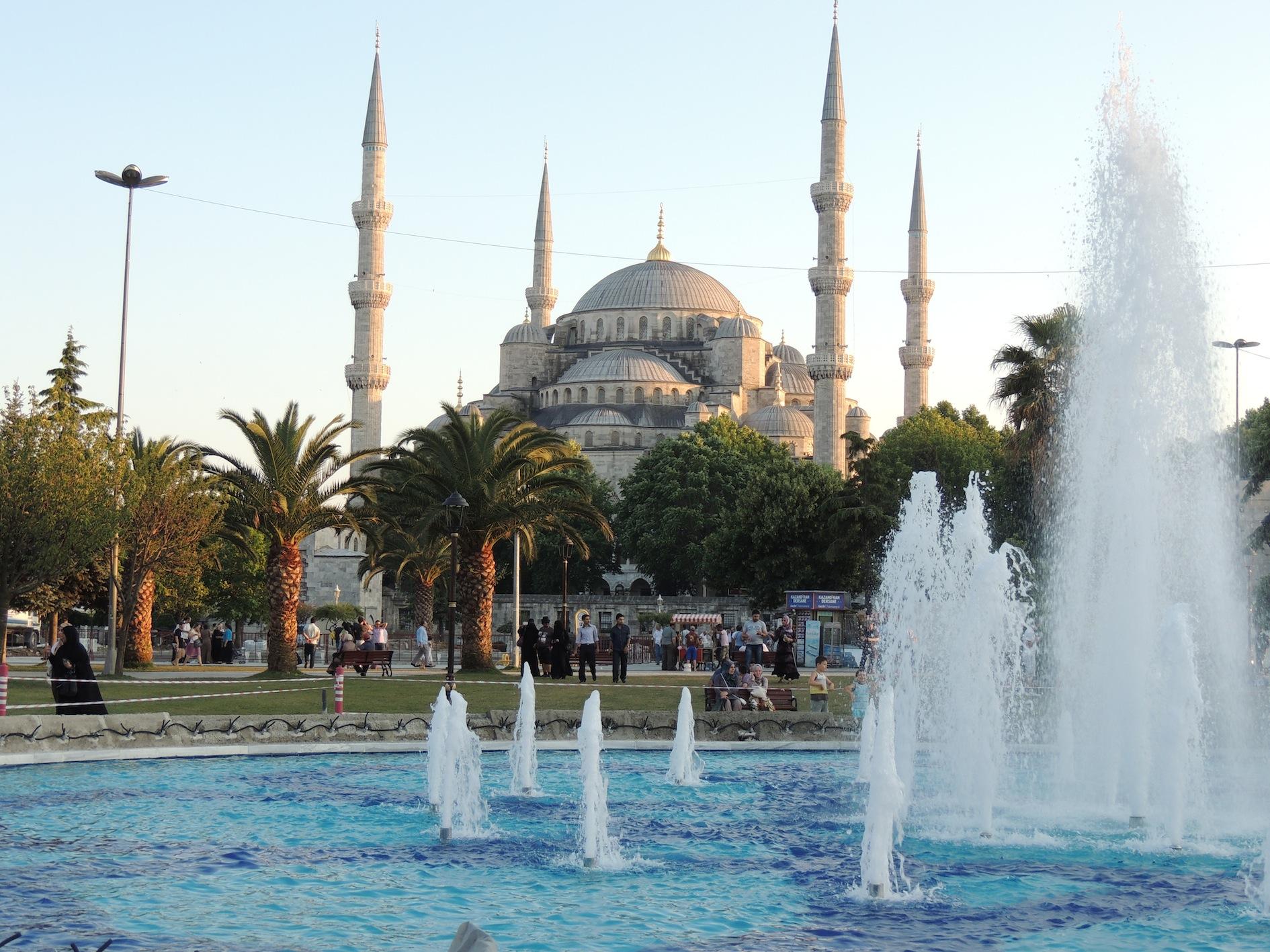 Mezquita Azul, Estambul, foto de Patricia Mogollón